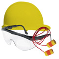 Hard Hats, Protective Glasses, Ear Protection