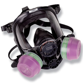 North 7600 Silicone Full Face Respirator
